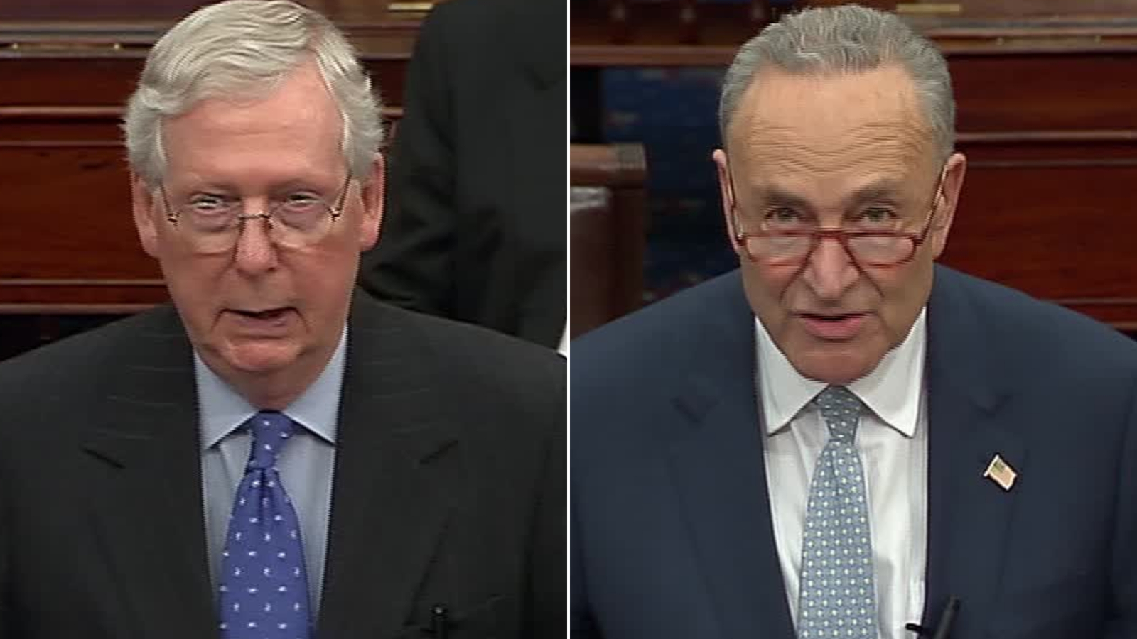 As nation grapples with crisis, McConnell and Schumer aren't negotiating — with each other