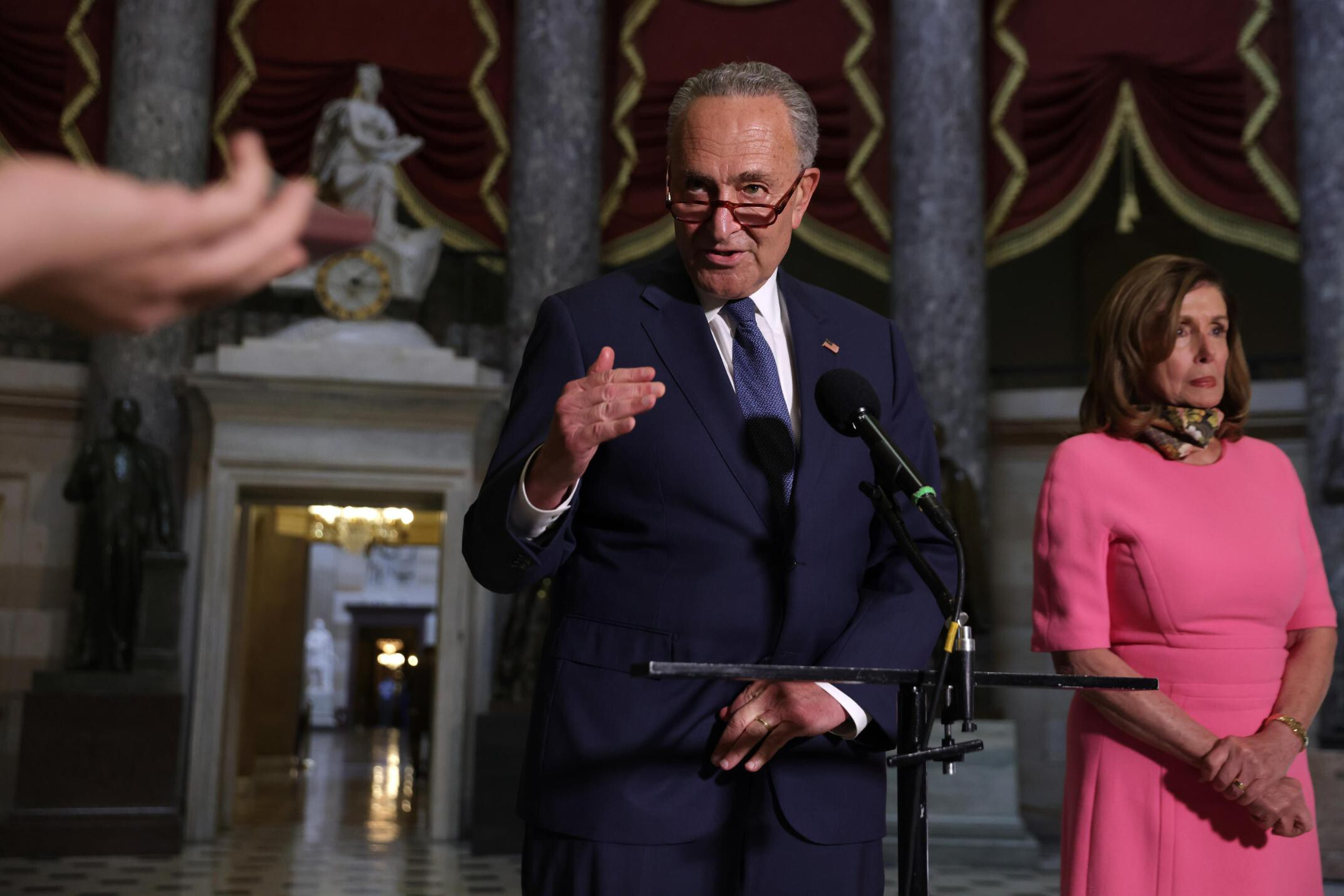 Schumer and Pelosi face leadership test as infrastructure push kicks into high gear