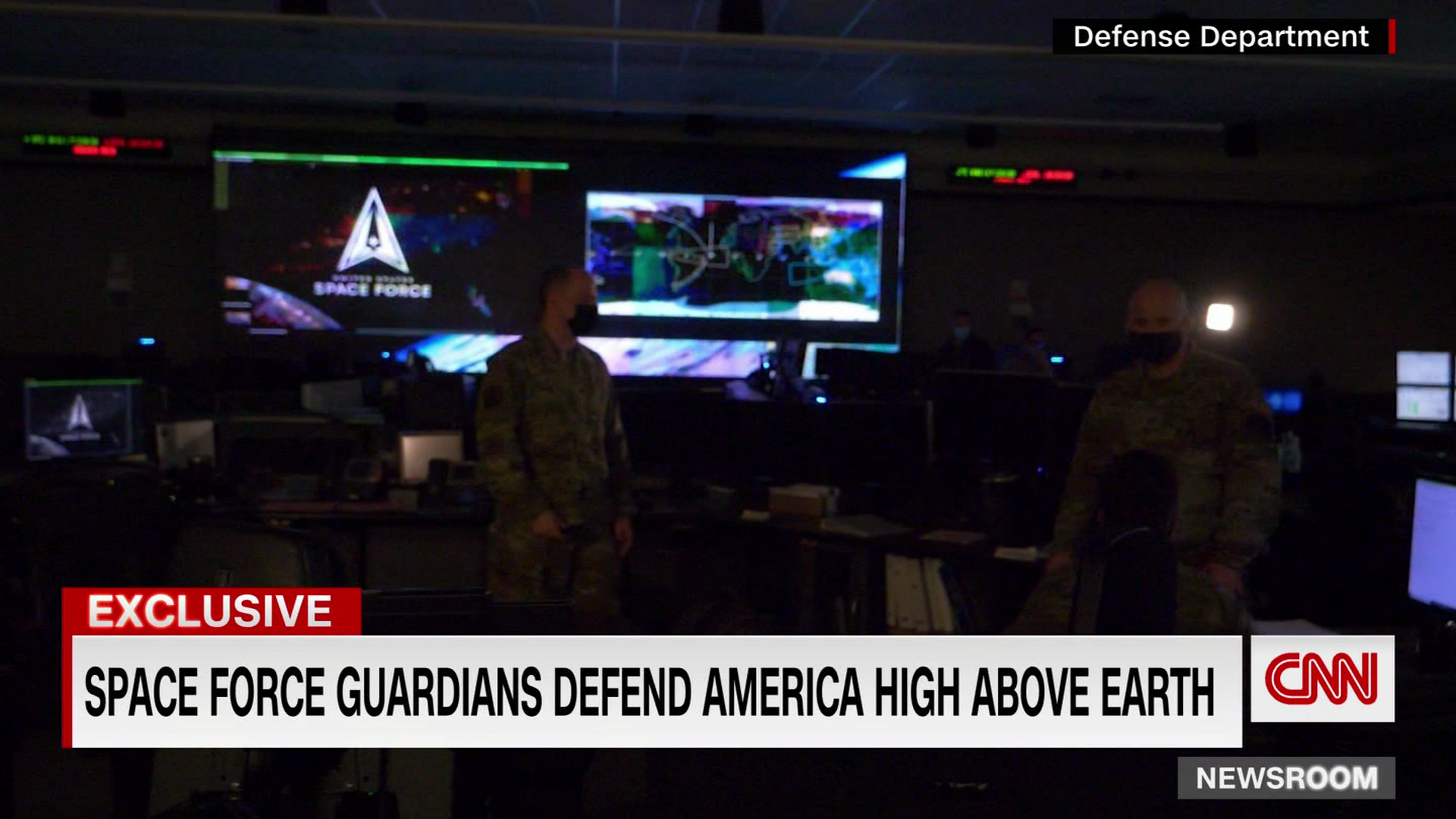 CNN gets an inside look at Space Force