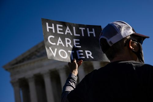 Image for Supreme Court dismisses challenge to Affordable Care Act, leaving it in place