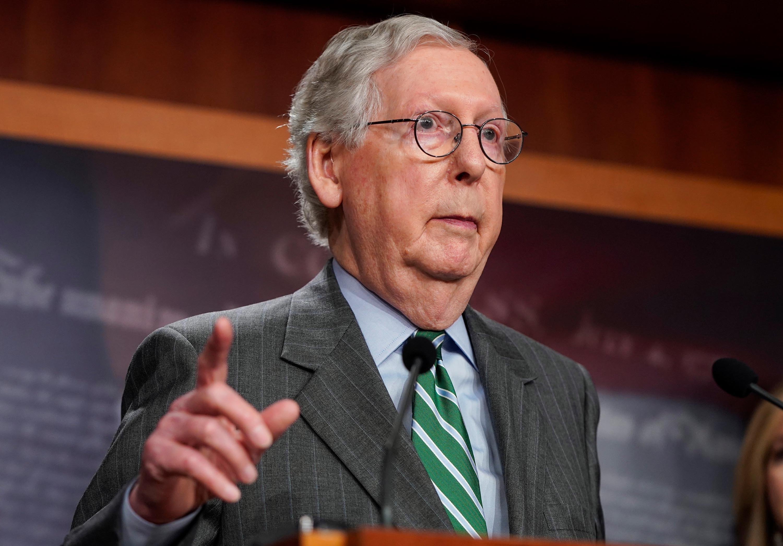 Senate Republicans block bill to suspend debt limit and avert shutdown in key vote