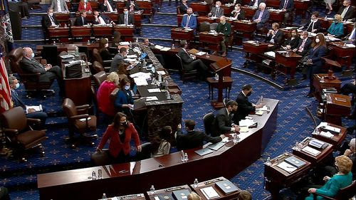 Image for Here are the Republicans who voted to hear witnesses at Trump's impeachment trial