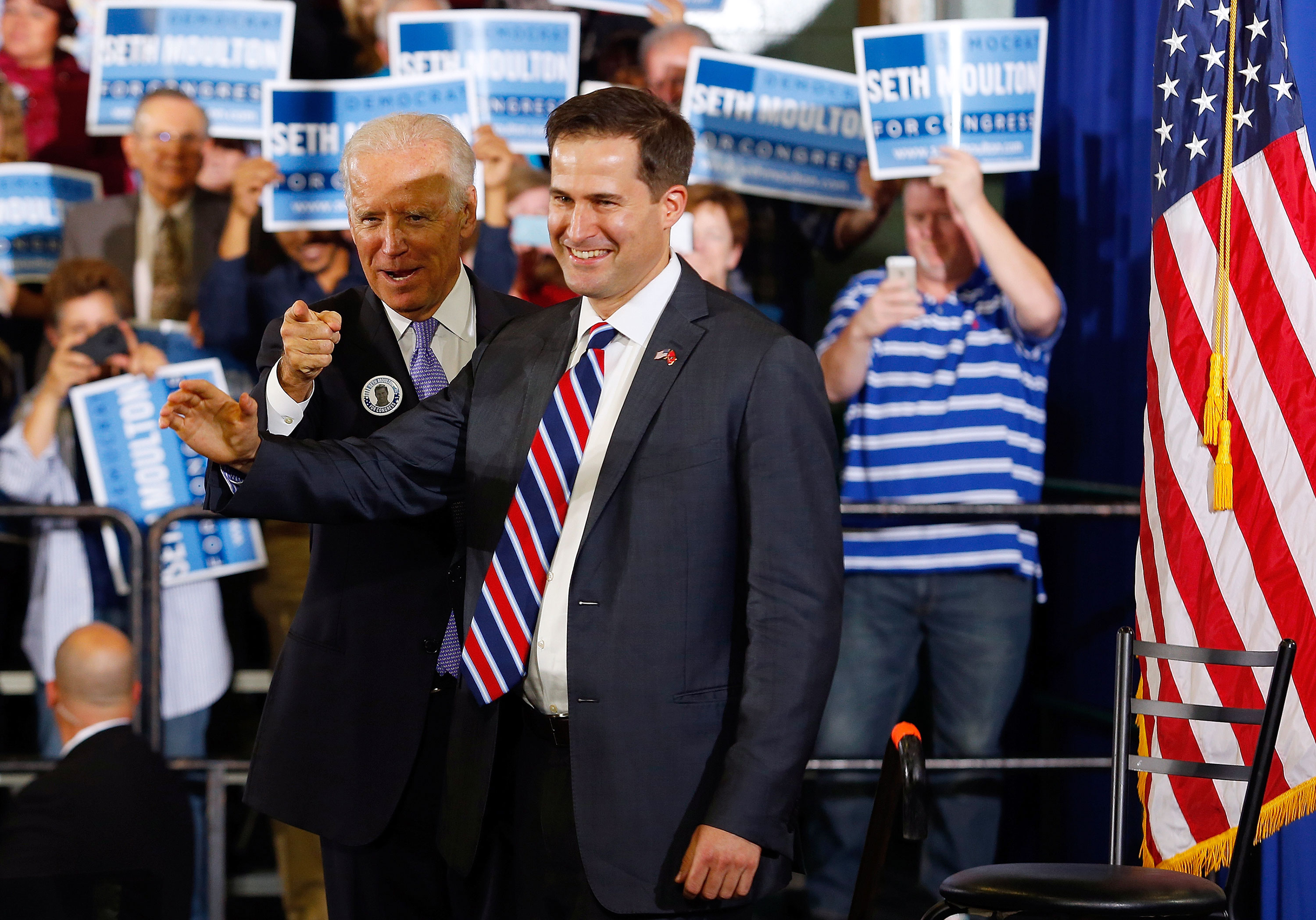 Rep. Seth Moulton endorses Joe Biden