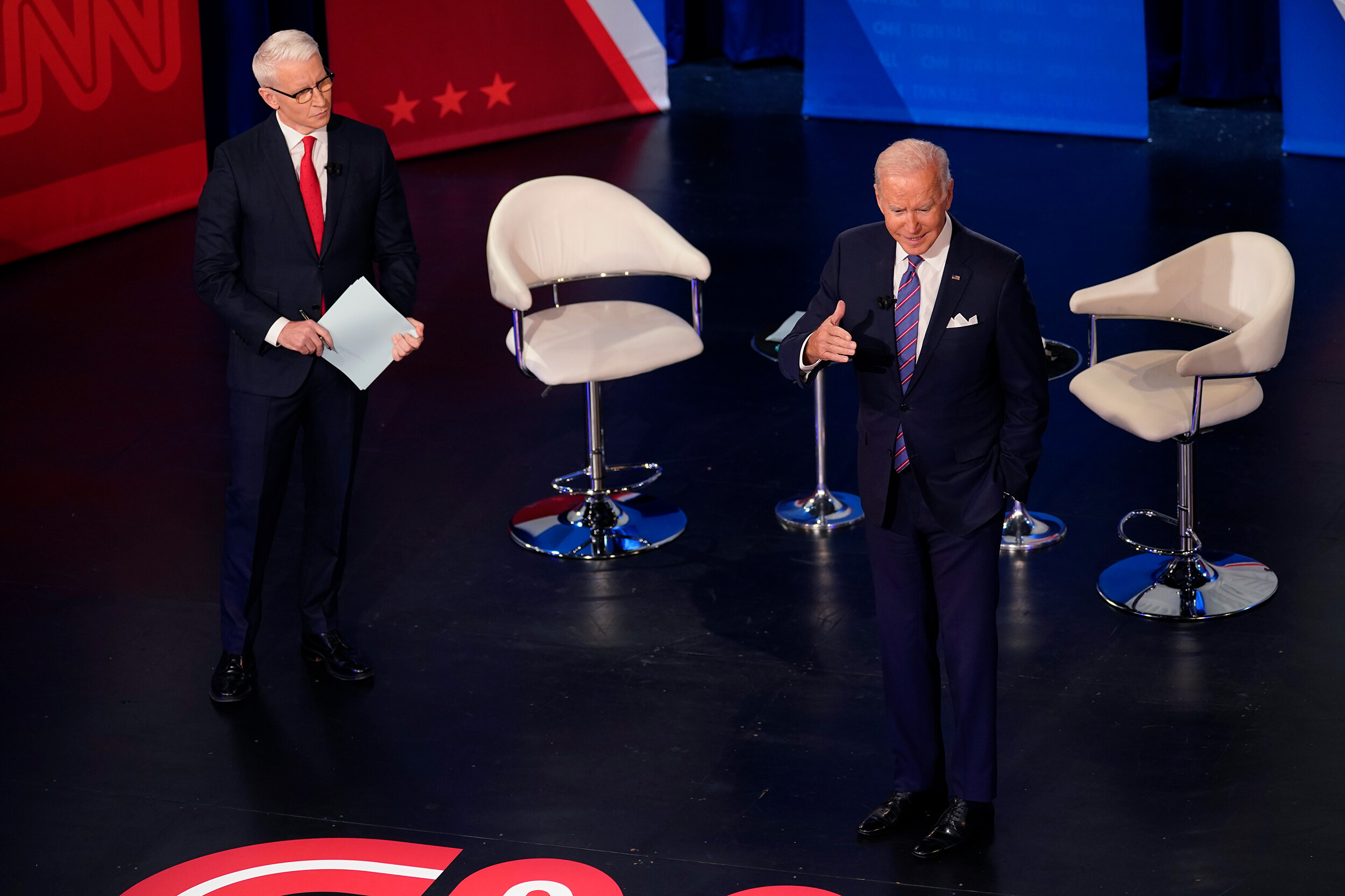 Sinema is 'smart as the devil' and Manchin is 'not a bad guy,' Biden says