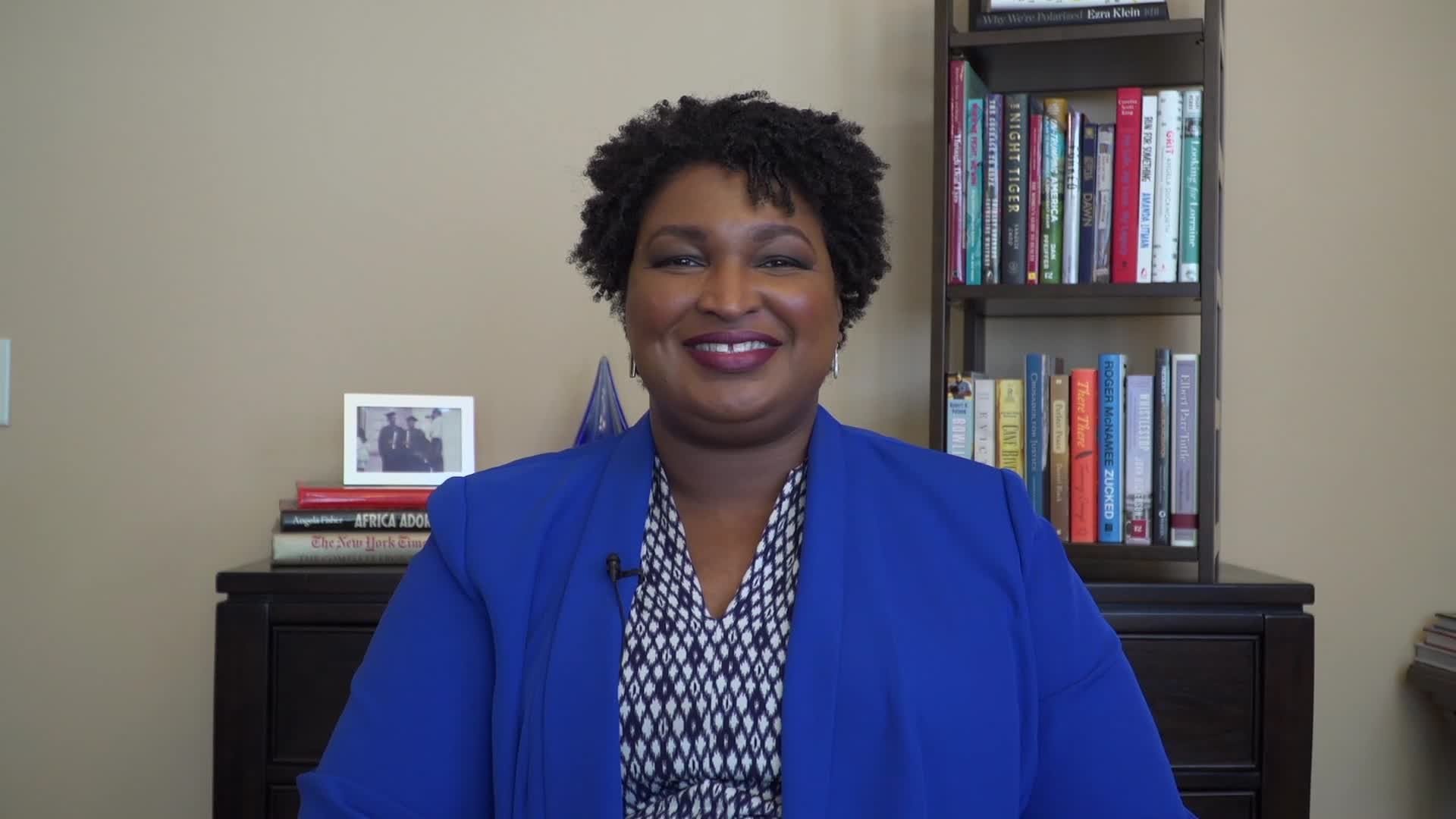 Georgia Democrat Stacey Abrams on her not joining protesters in person: I 'do what I can to support their message, but not to distract from their efforts'