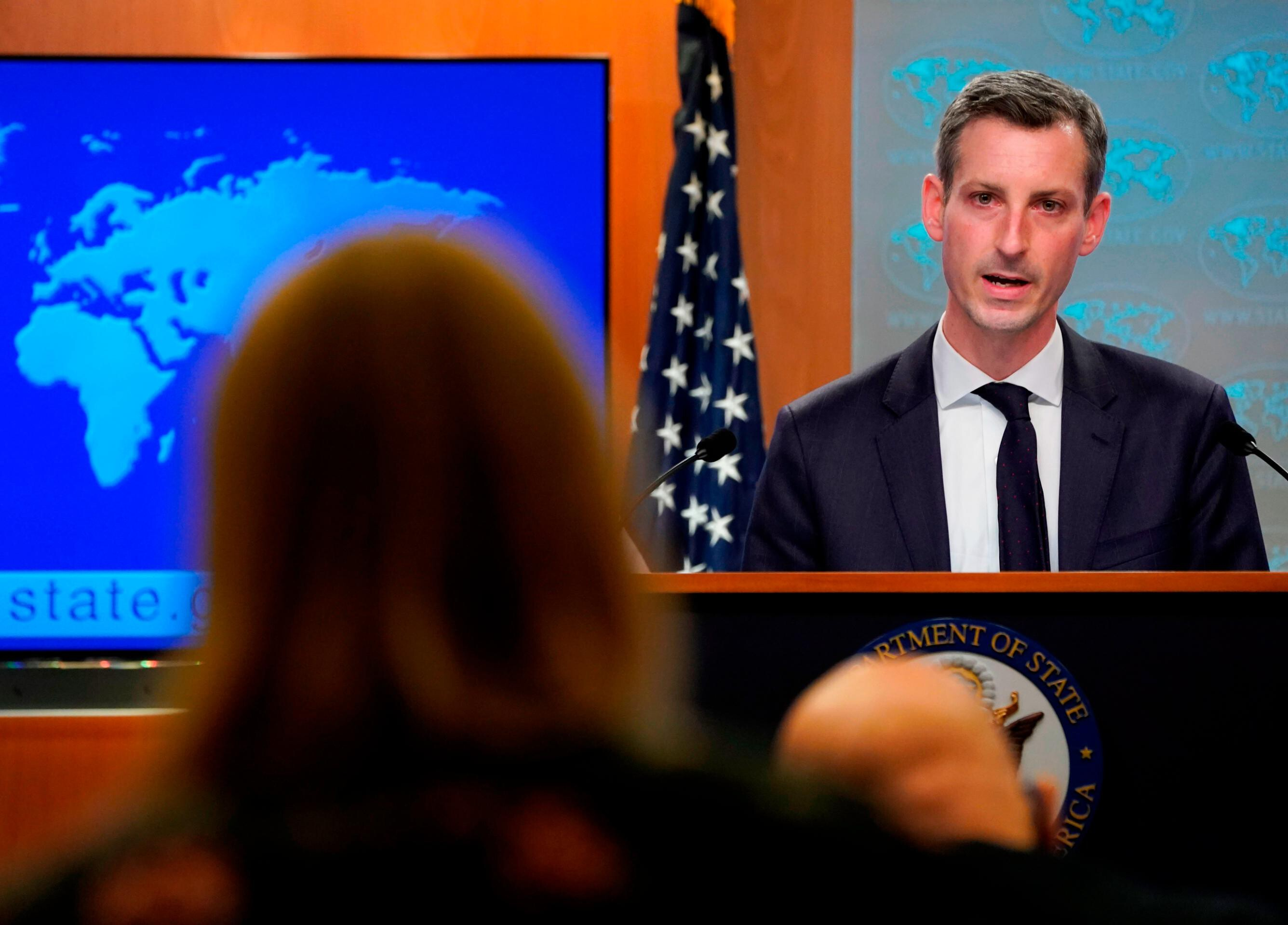State Department spokesman says he has tested positive for Covid-19