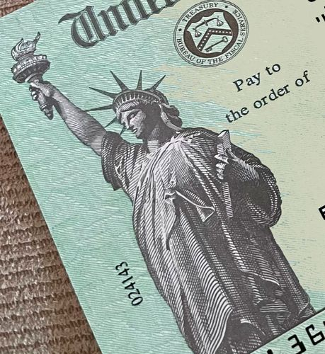Image for Stimulus payments hitting some Americans' bank accounts