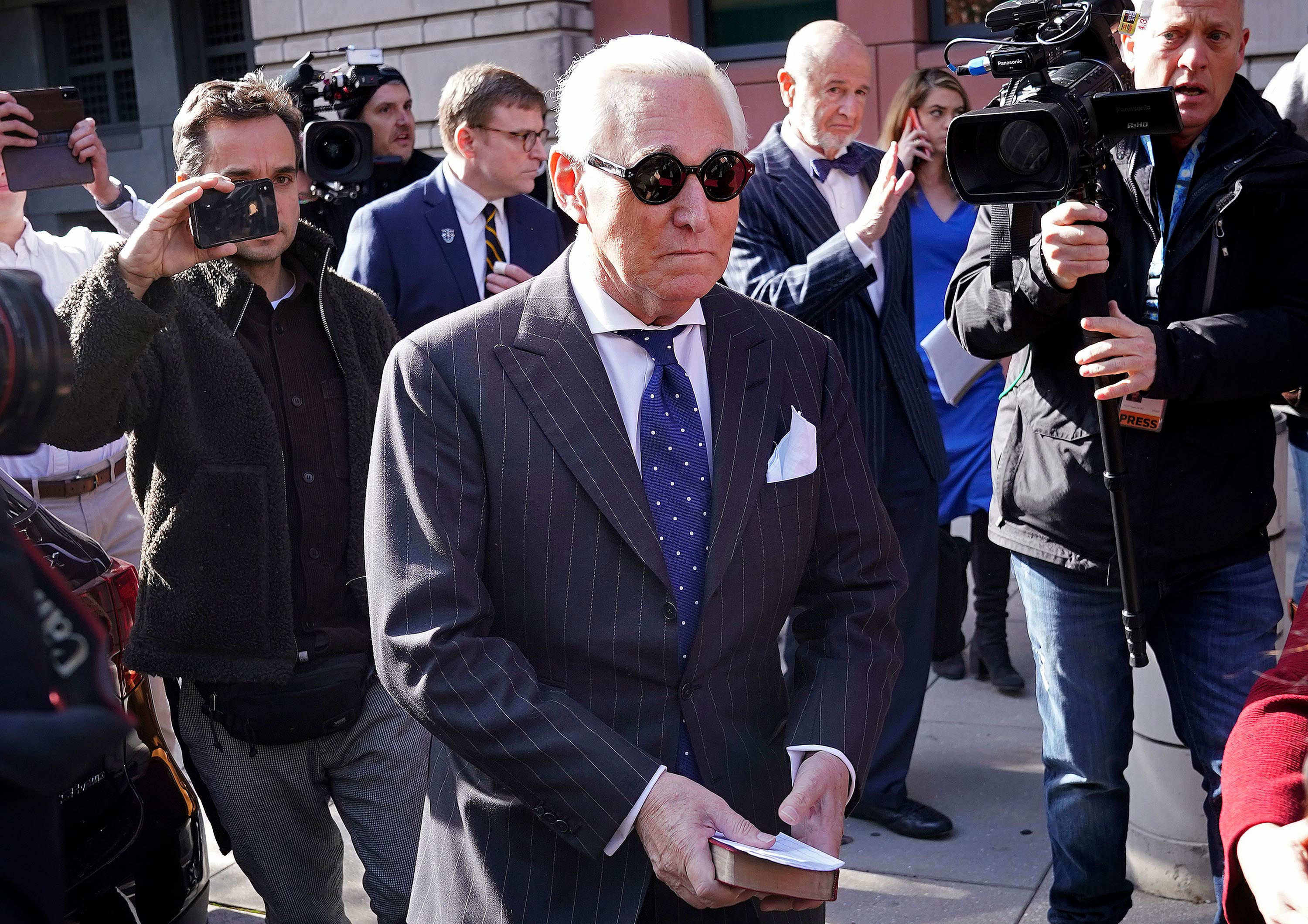 Roger Stone judge to discuss case in court amid sentencing chaos