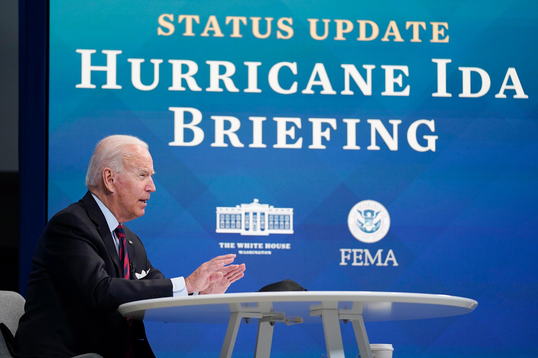 Biden to visit storm-ravaged Louisiana
