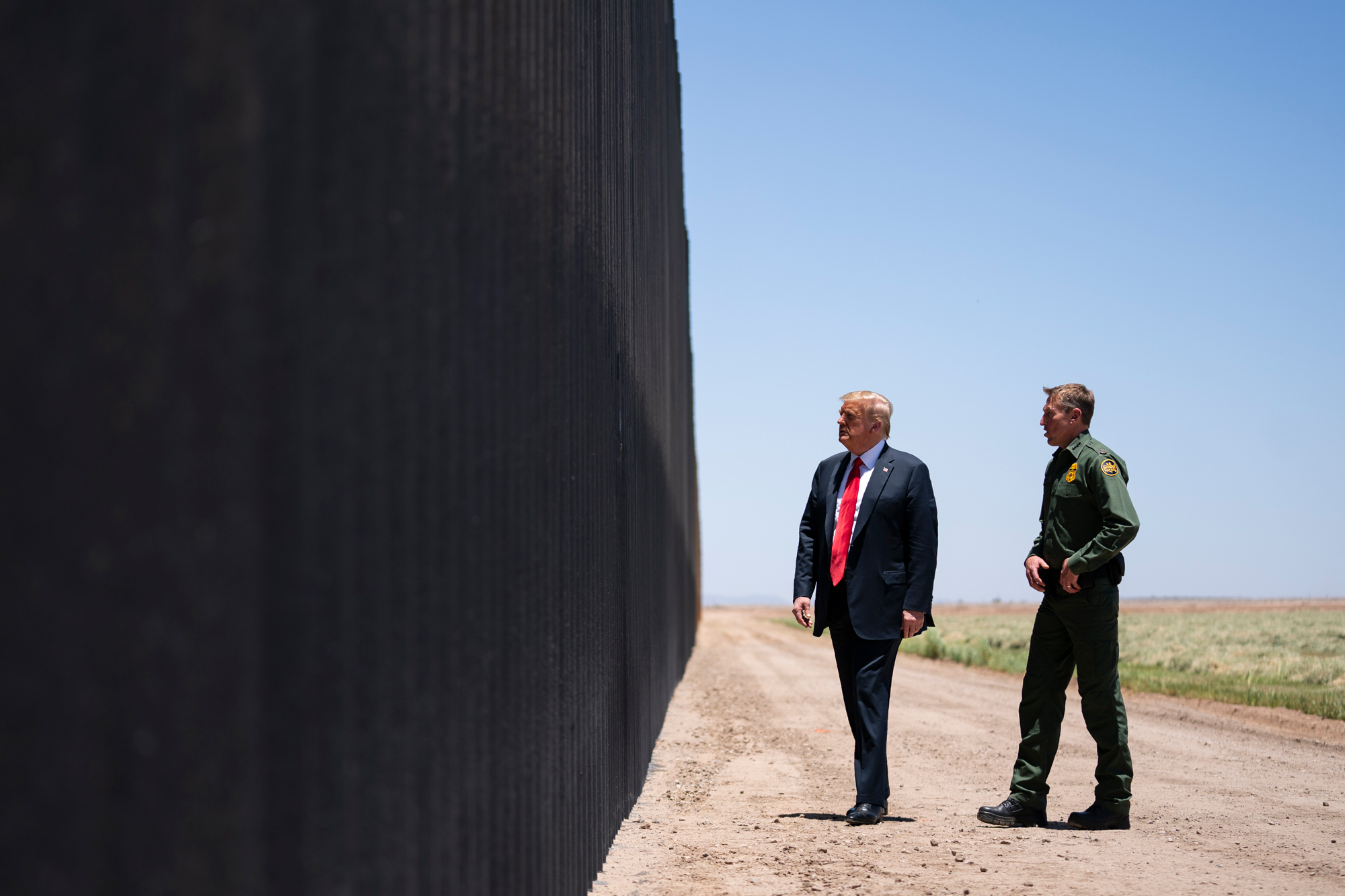Supreme Court allows continued construction of Trump's border wall