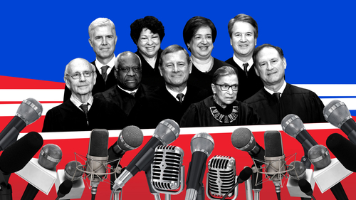 Image for Clarence Thomas, hobbits and the mute button: A historic two weeks at the virtual Supreme Court