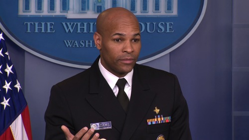 Image for Surgeon General warns of coronavirus outbreaks from Floyd protests