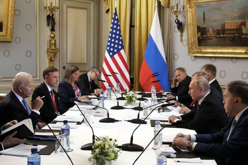Image for 5 takeaways from the summit between Biden and Putin