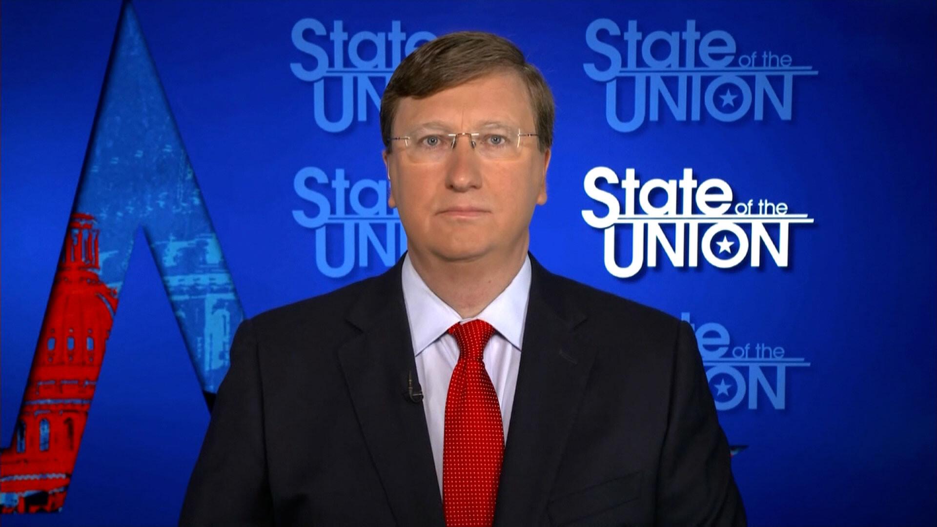 Mississippi GOP governor defends Covid response despite highest number of deaths per capita in US