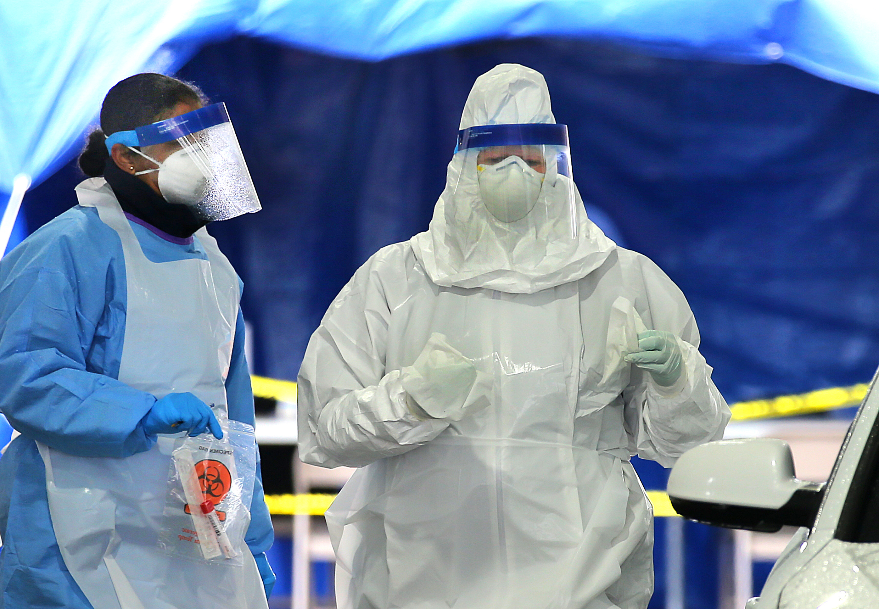 Documents show backlog of 160,000 coronavirus tests at just one lab company