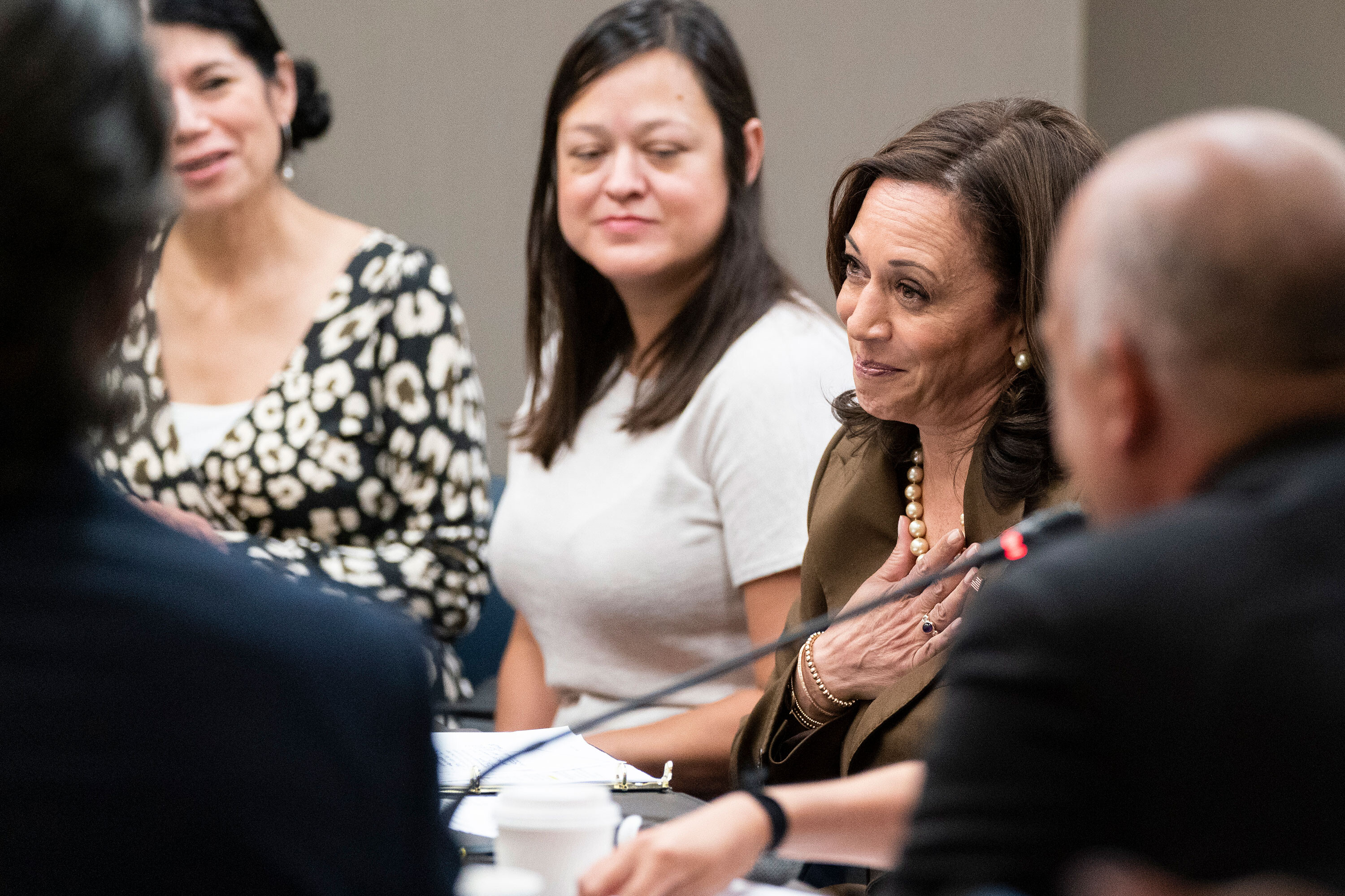 Harris tests negative for Covid-19 following meeting with Texas Democrats who tested positive