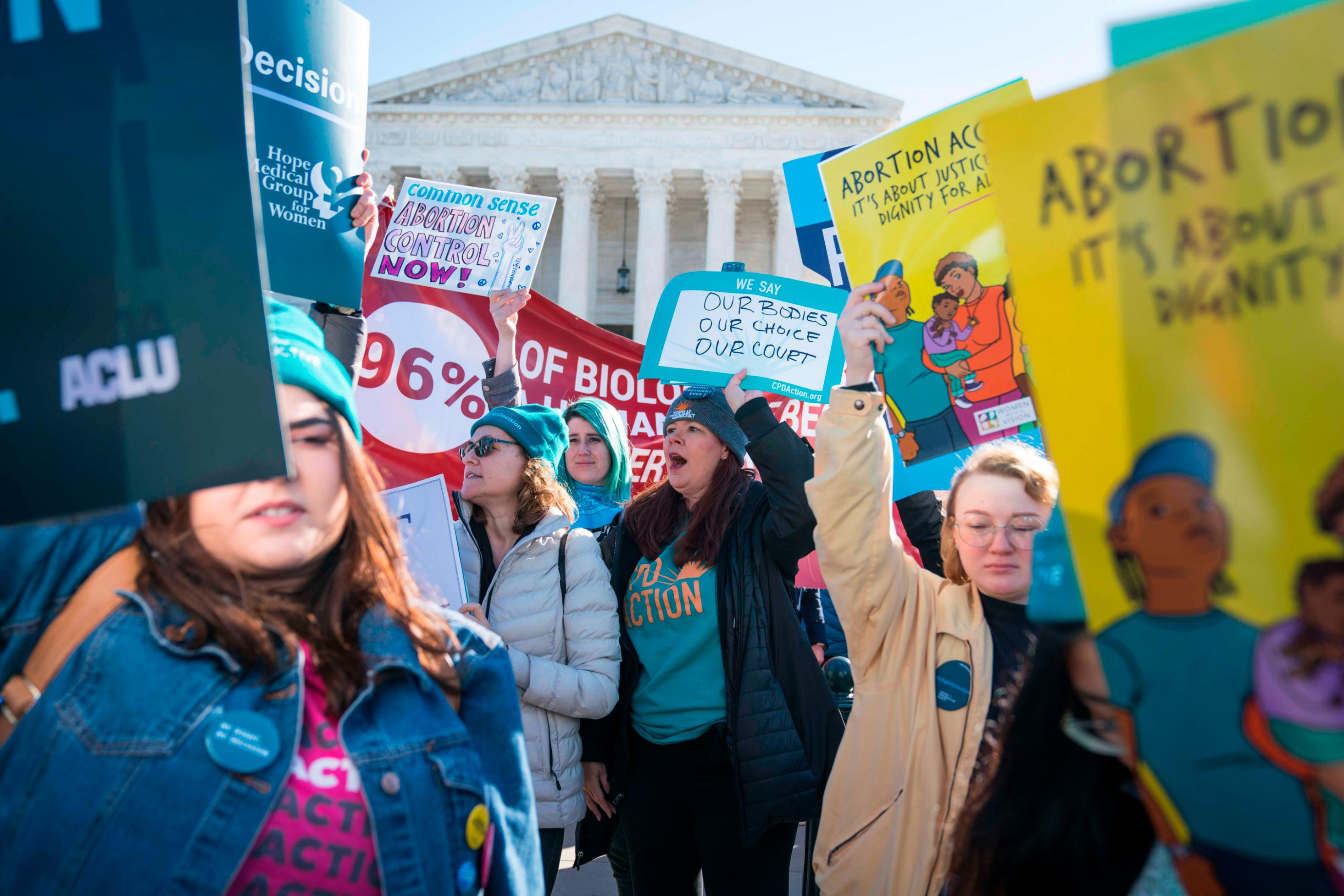 Federal judges in 3 states block orders limiting abortion access over coronavirus