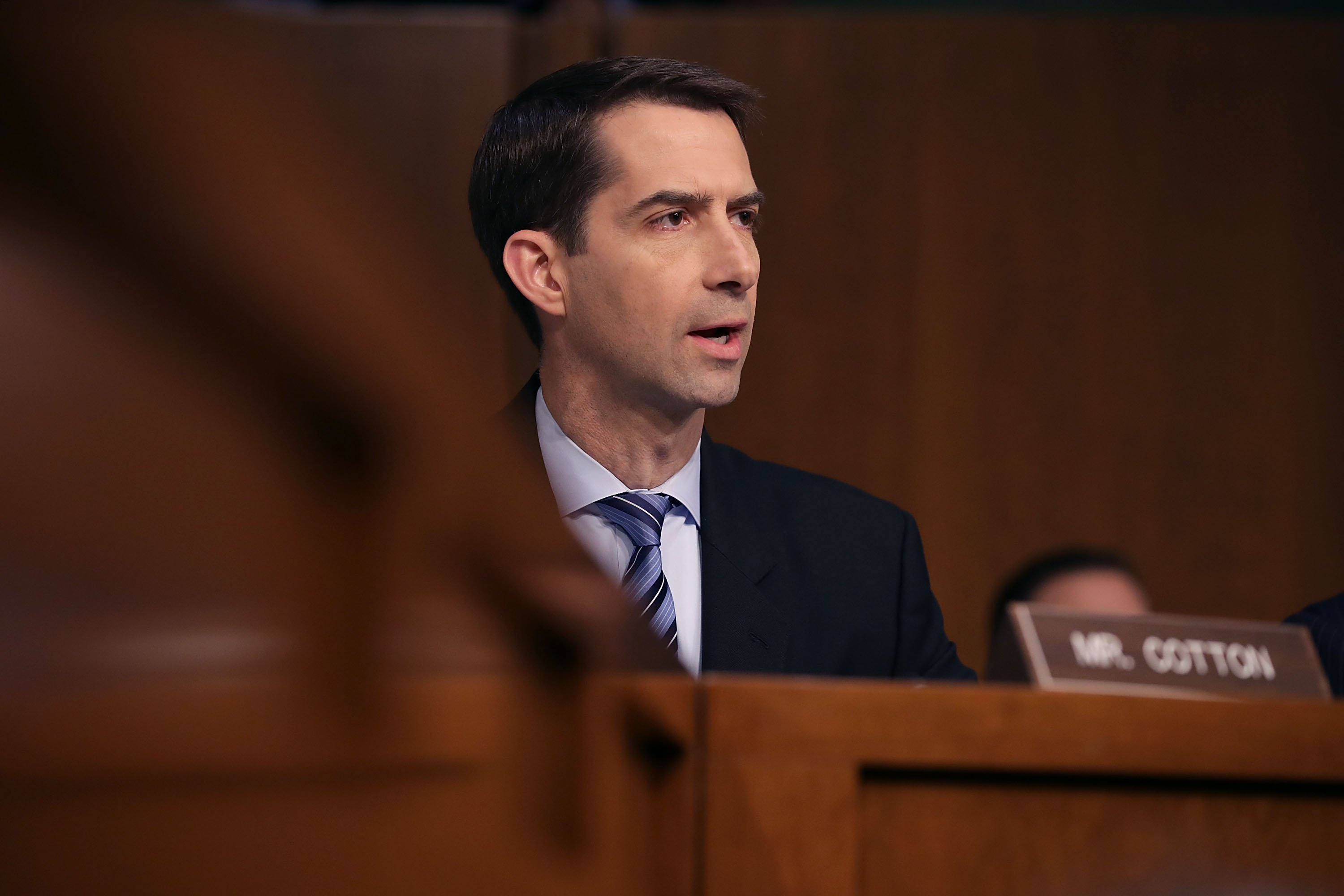 Sen. Tom Cotton says he floated the idea of buying Greenland to Trump