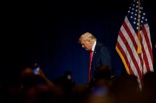 Image for Trump's revenge tour begins with eyes on one Ohio Republican