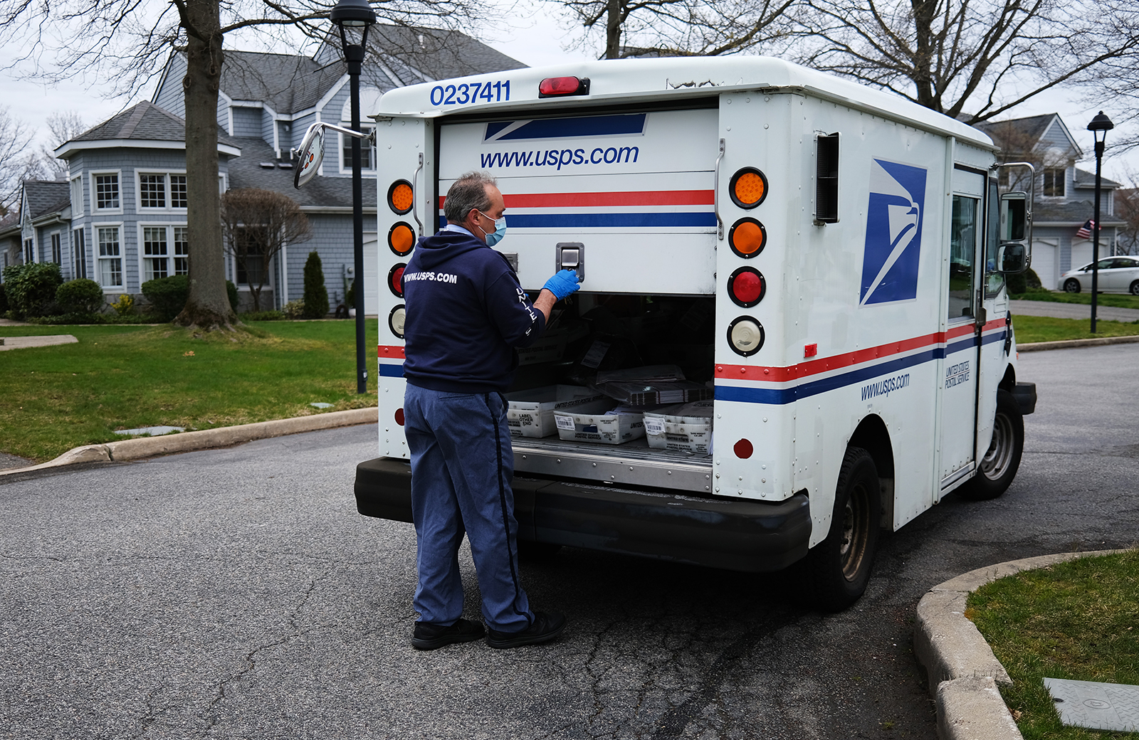 As Trump attacks the mail, his administration gains more access to the Postal Service