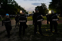 Trump briefly taken to underground bunker during Friday's White House protests
