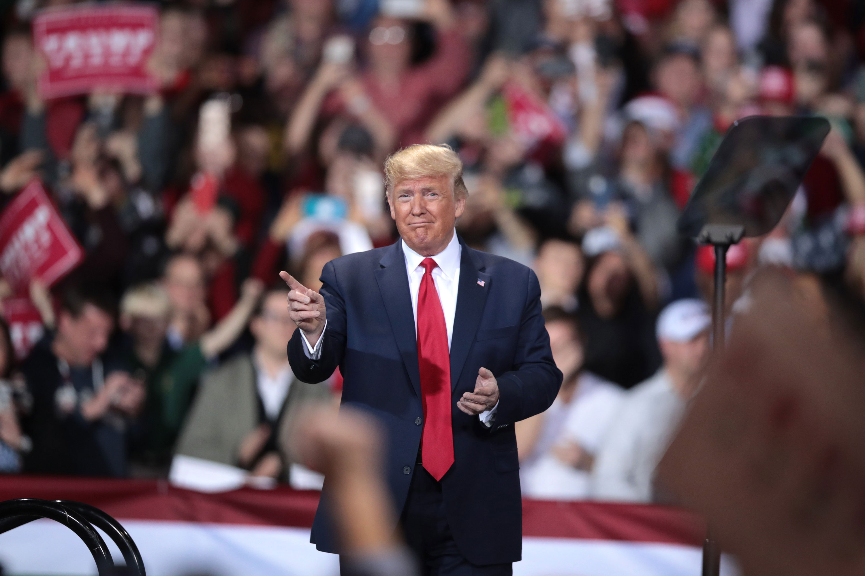 Trump campaign rallies stalk Democrats in 2020 preview