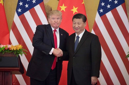 Image for Trump claims he has 'absolute right' to order US companies out of China under 1977 law