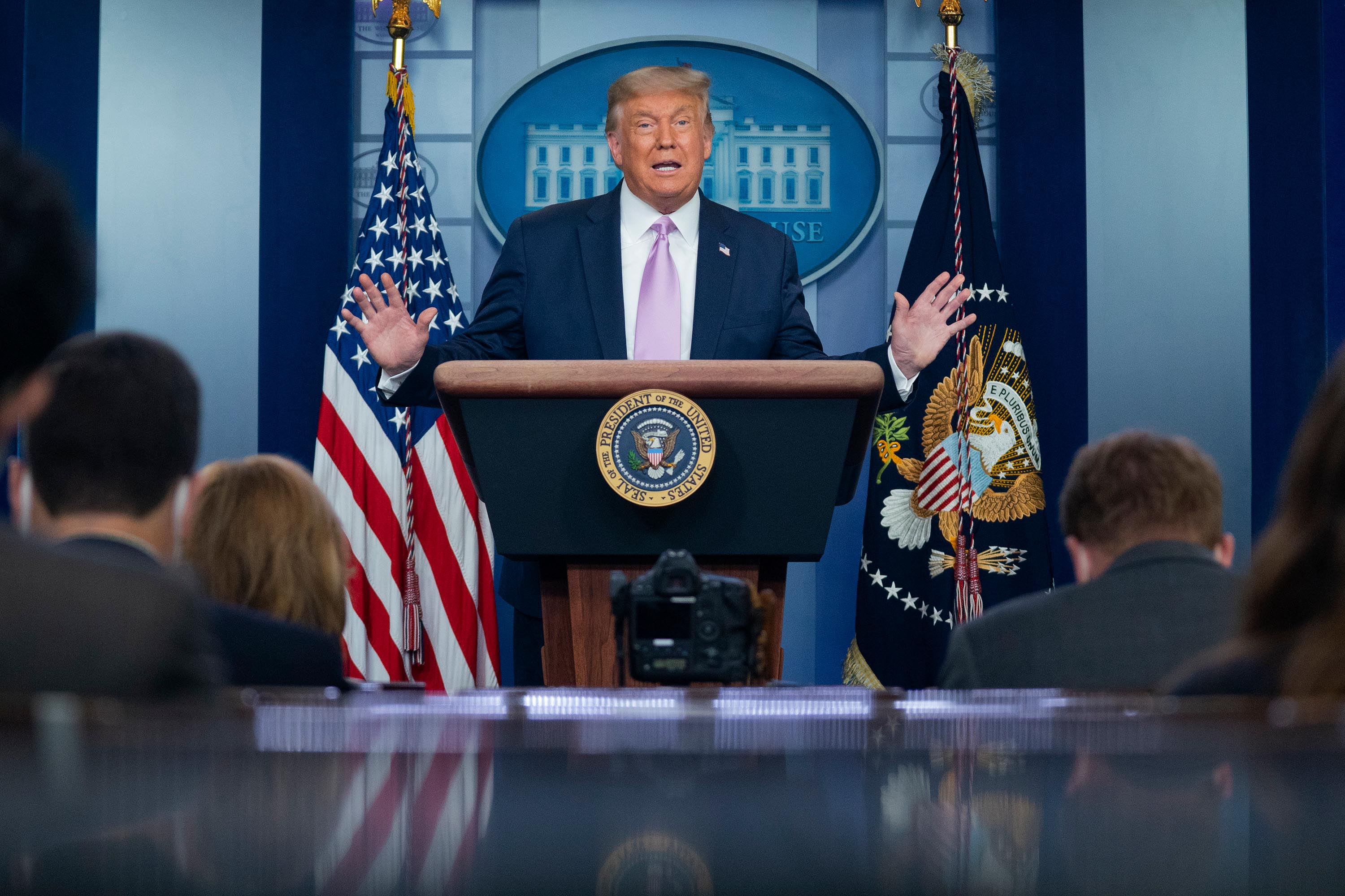 Fact check: Trump falsely suggests large number of NYPD cops were fired, misleads on European coronavirus numbers