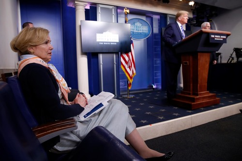 Image for How a media-distracted Trump ended up derailing his own briefing