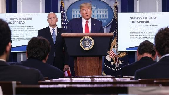Fact-checking Trump's marathon coronavirus briefing