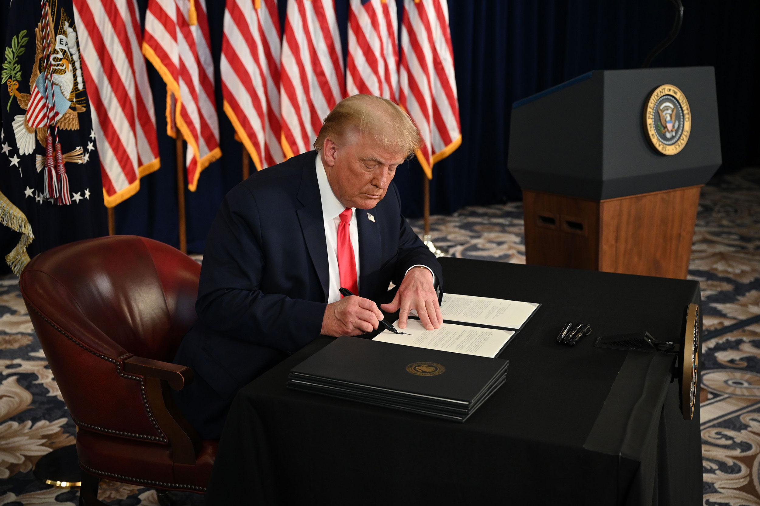 Breaking down the executive actions Trump signed on coronavirus relief