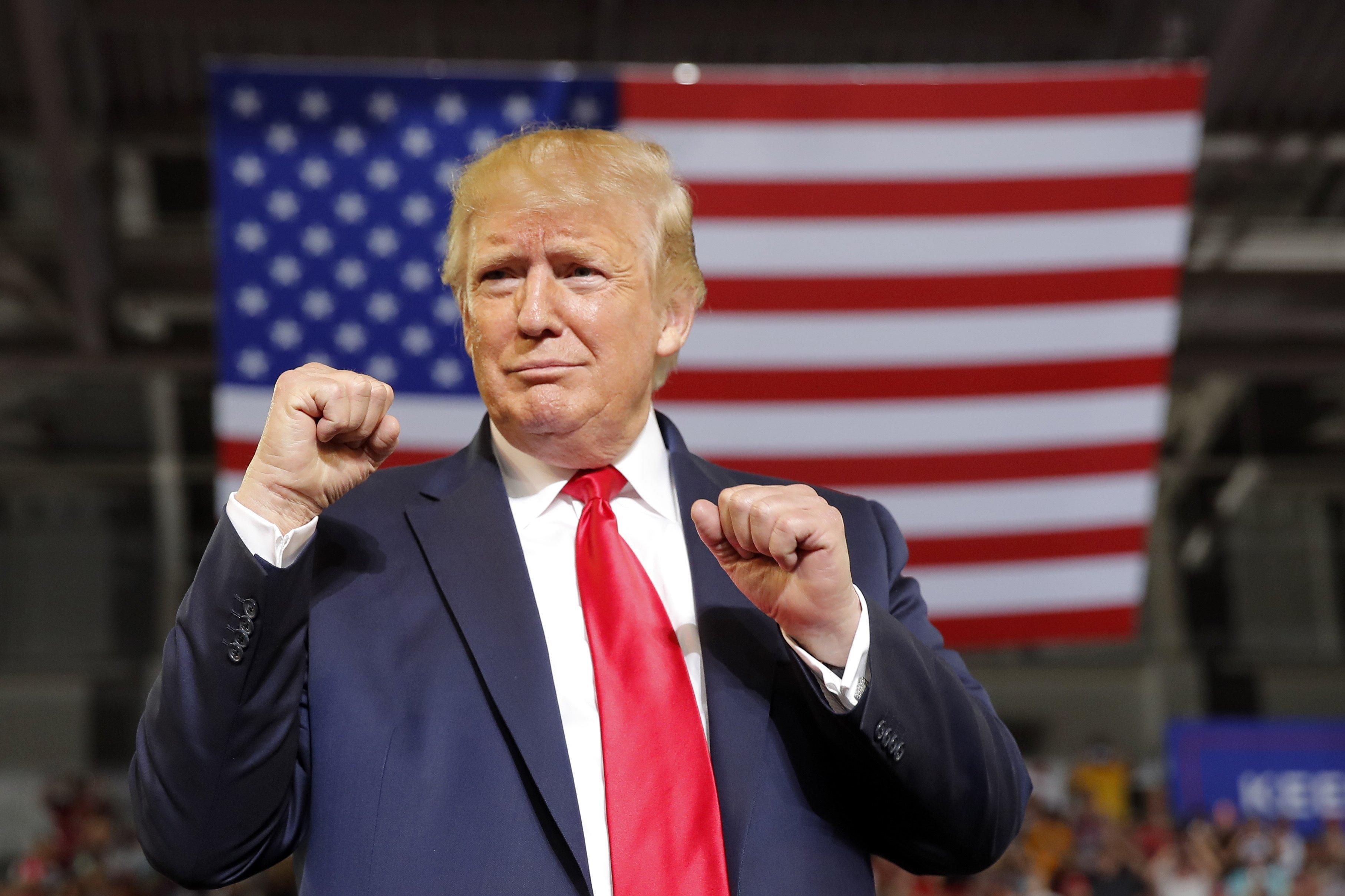Trump made 20 false claims at his North Carolina rally