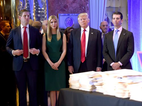 Image for Judge allows fraud suit against Trump, family and company to proceed