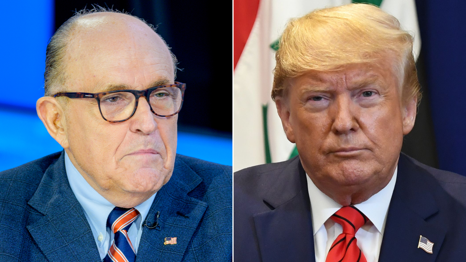 Trump associates, including Giuliani, are asking for pardons