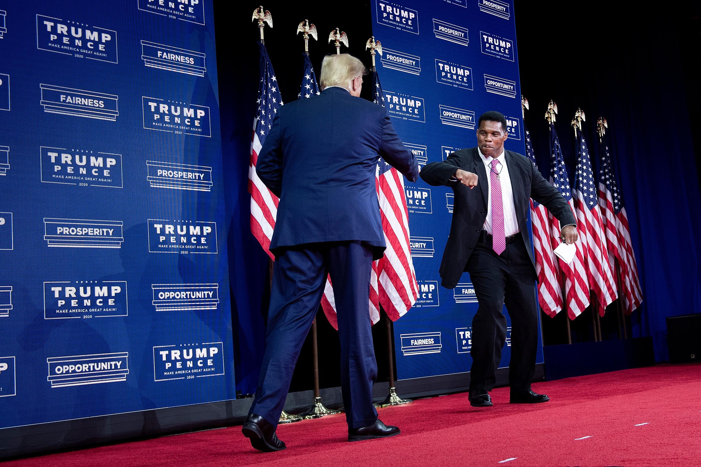 Trump endorses Herschel Walker in Georgia Senate race