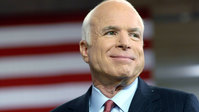 Democrats play video clip of McCain at Senate trial to show US support for Ukraine