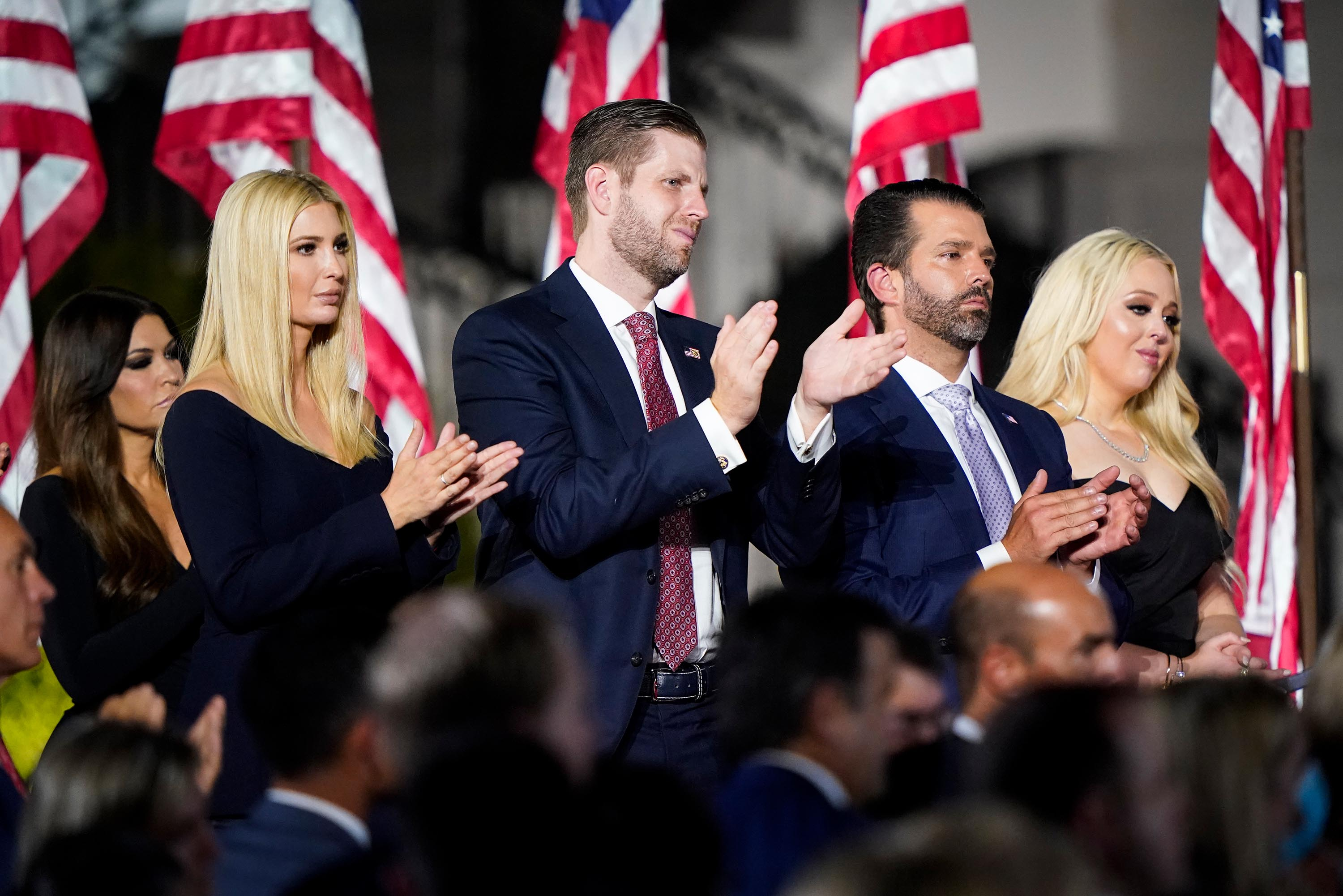 Plotting the future: Trump kids even look to profit from their father's fallen legacy