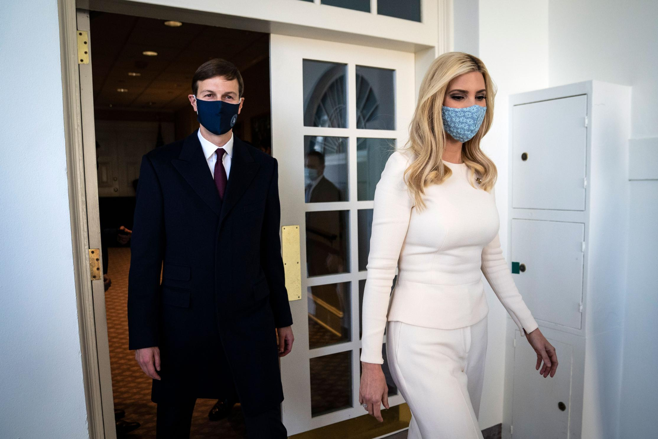 Already shunned from polite society, Ivanka Trump and Jared Kushner face new cold post-insurrection reality