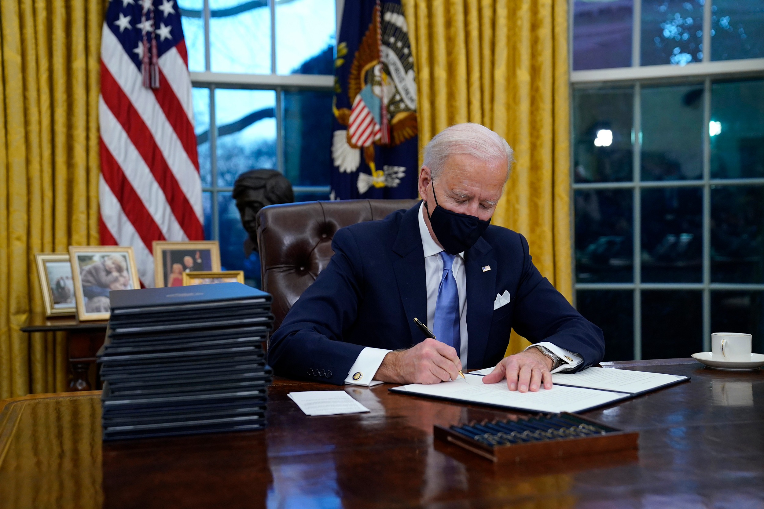 Biden says Trump left him a 'very generous letter' before departing White House