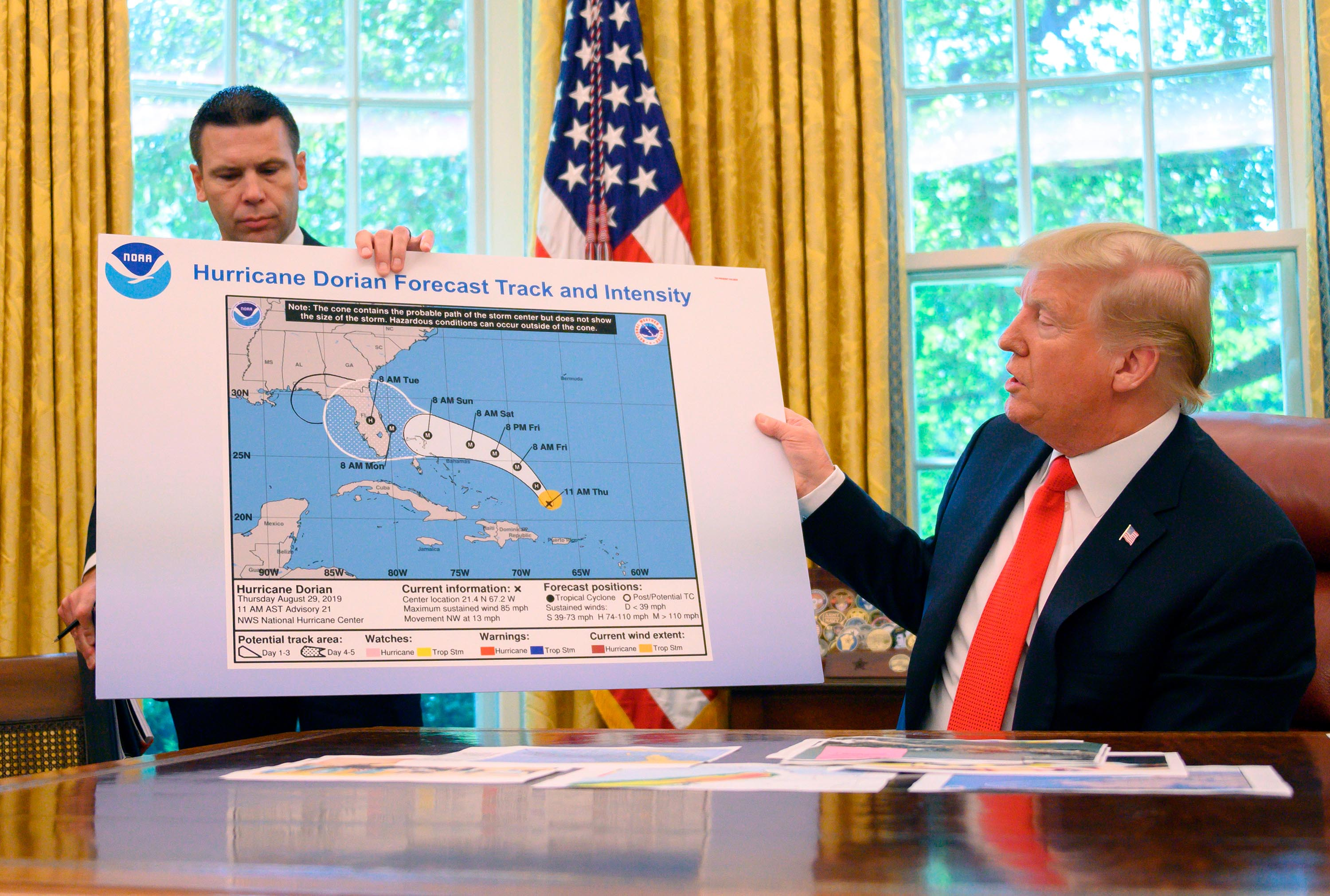 Watchdog blasts Commerce Department for siding with Trump over erroneous Hurricane Dorian forecast