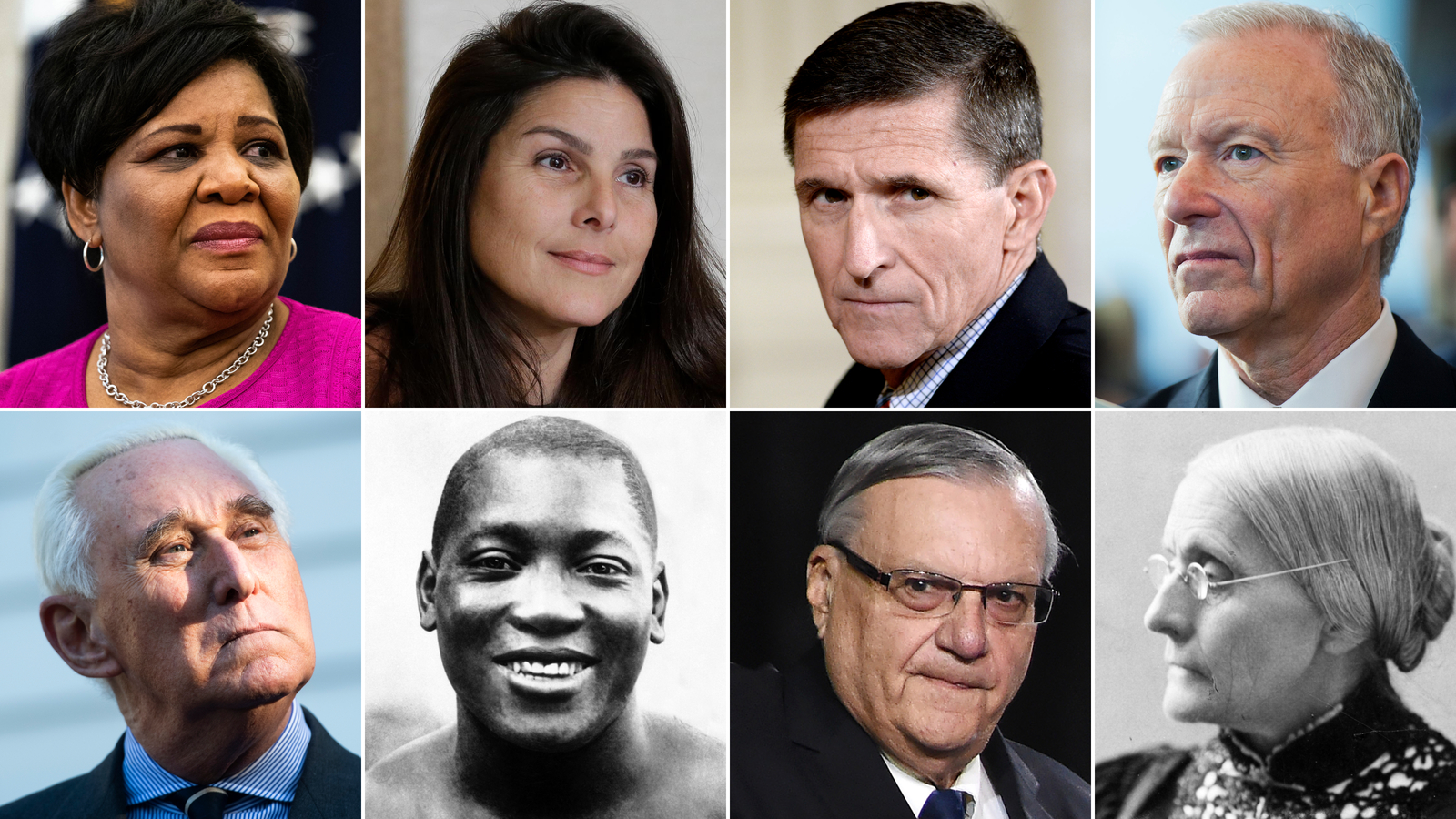 Here's who Trump has granted pardons and commutations to during his presidency