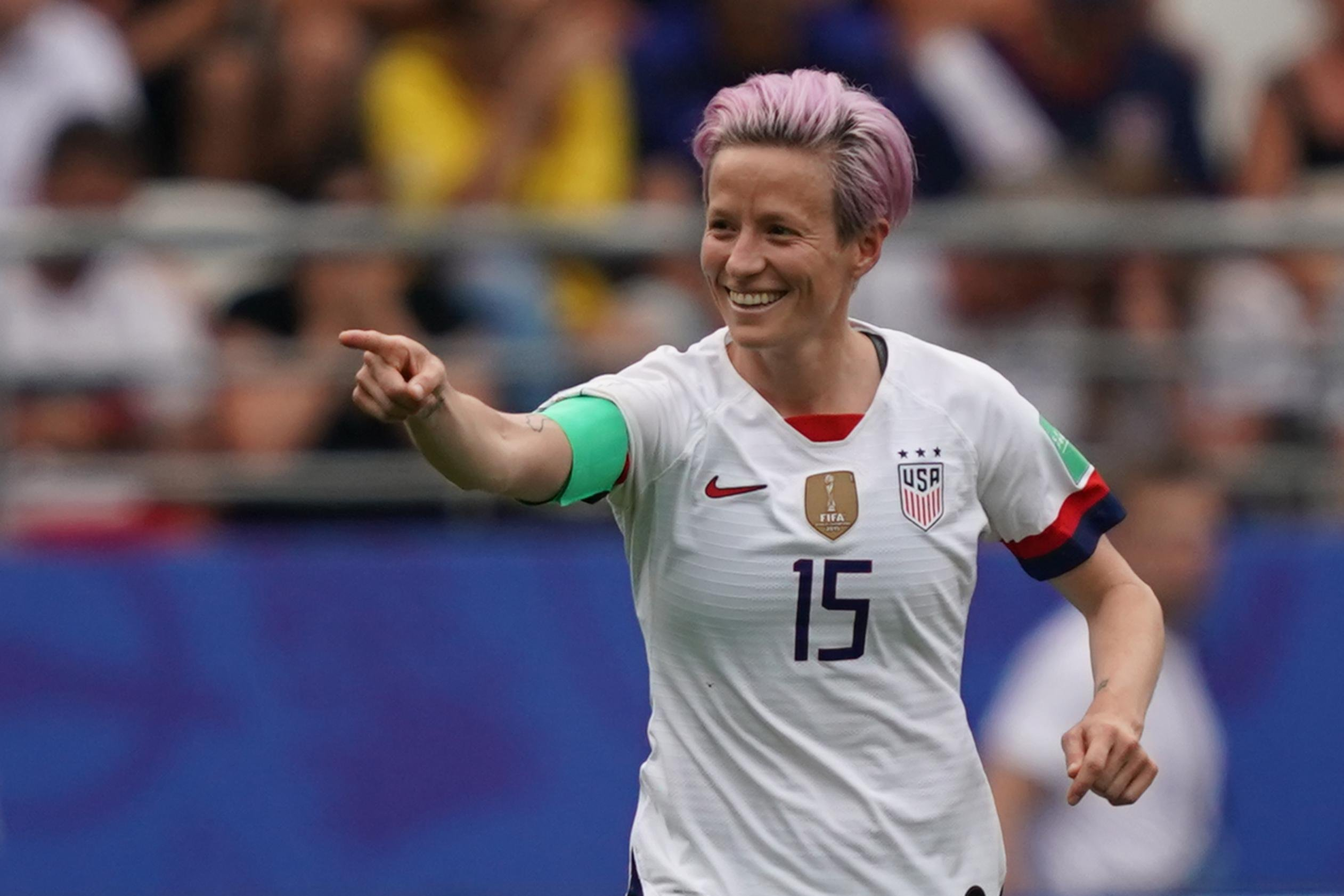 Trump: Soccer star Megan Rapinoe 'should WIN first' before declining WH invitation, says he will invite them 'win or lose'