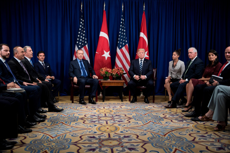 Trump declares himself a 'big fan' of Turkey's strongman leader Erdoğan