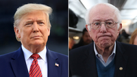 Trump congratulates Sanders on 'great win' in Nevada