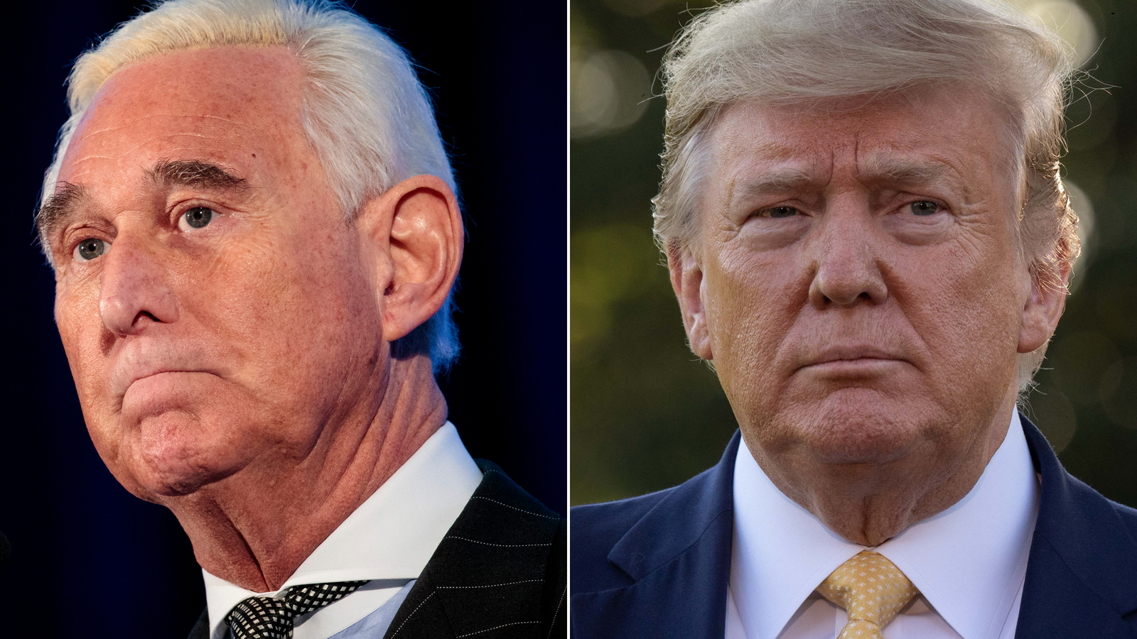 Trump says he won't pardon Roger Stone — for now