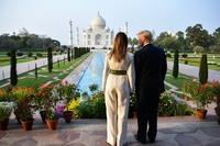 Trumps cherish an iconic moment -- touring the Taj Mahal