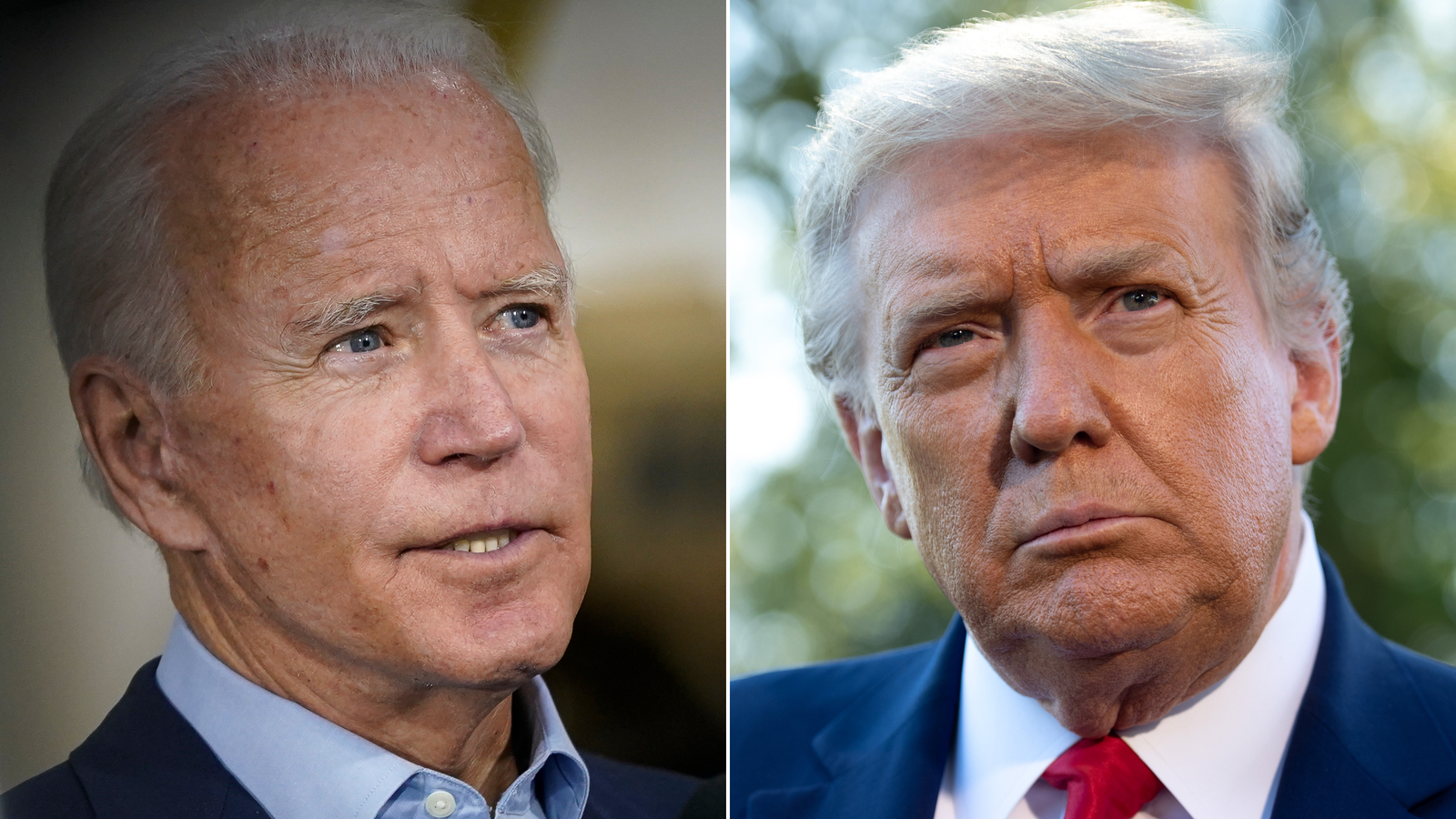 Trump and Biden prepare for a clash over voter fraud claims at Tuesday's debate