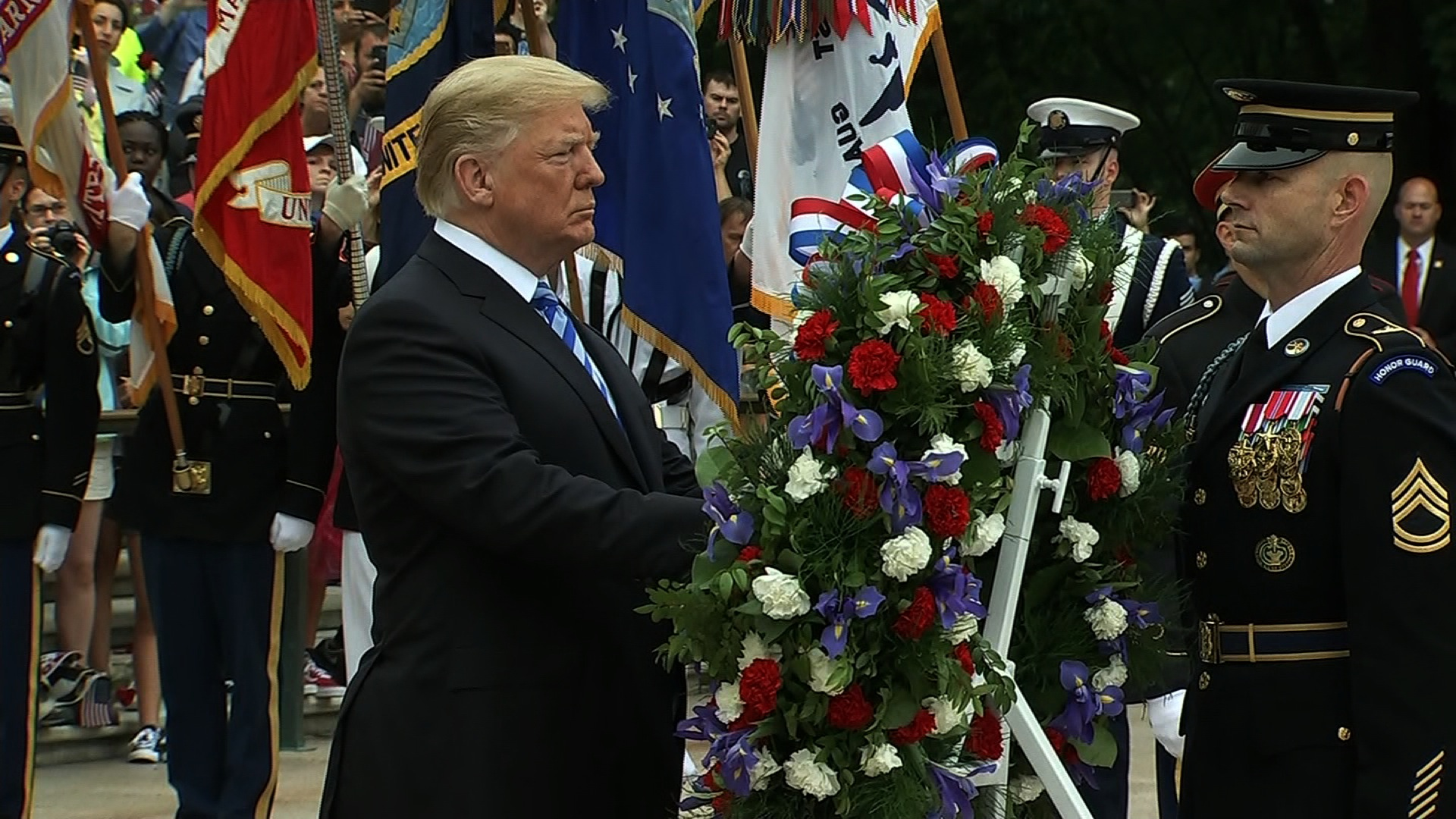 Trump to participate in Memorial Day wreath laying at Arlington National Cemetery