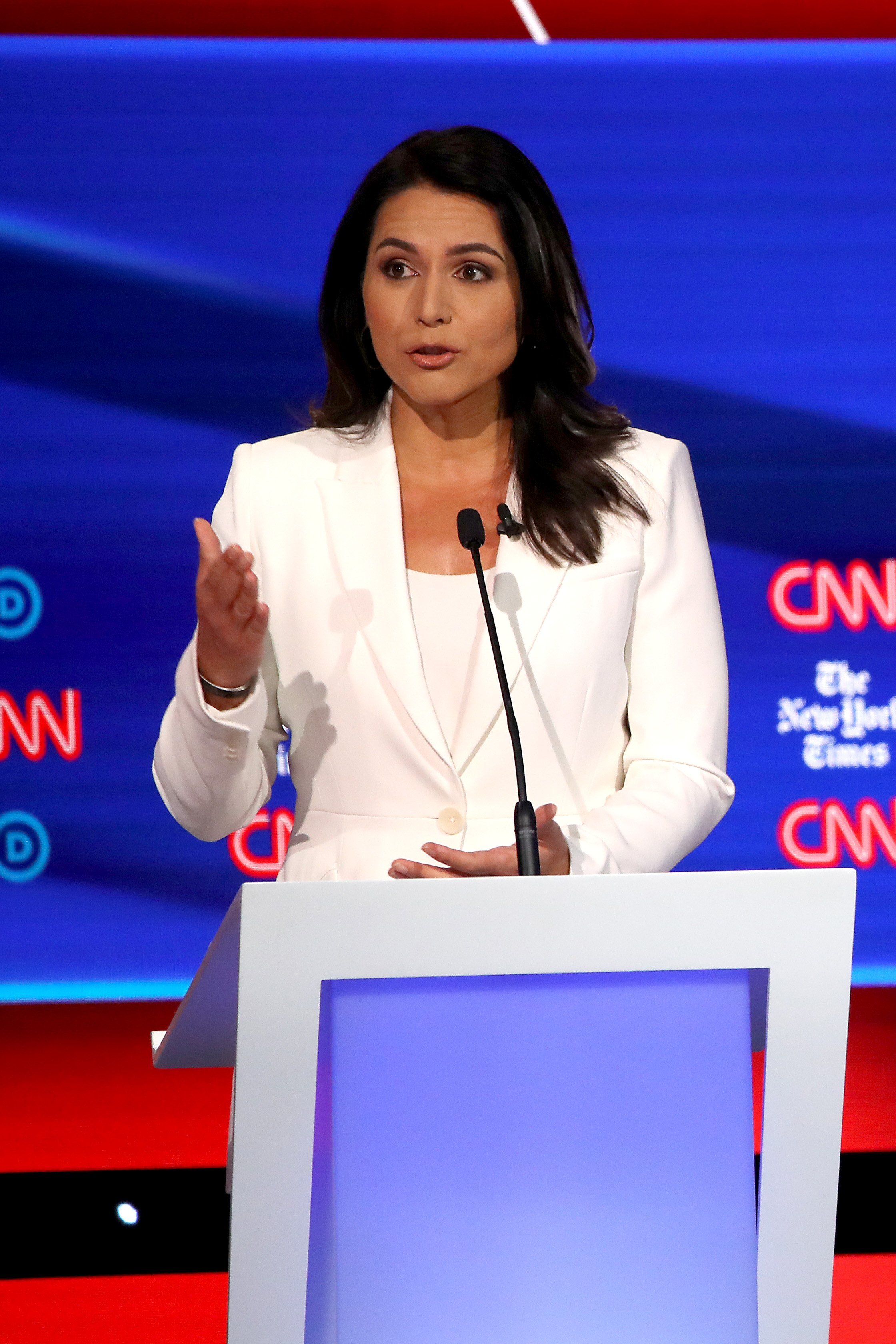 Tulsi Gabbard's Clinton clash sparks speculation about her political future