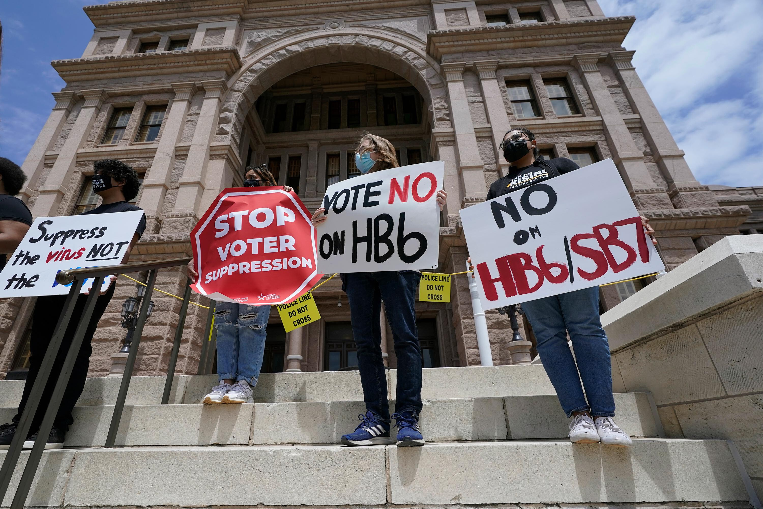 Texas Republicans set to resume push for voting restrictions as special legislative session begins